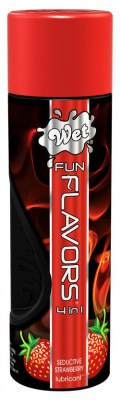 Лубрикант Wet Fun Flavors Seductive Strawberry